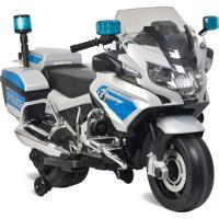 Moto Polícia Bmw Elétrica 12V - Bandeirante