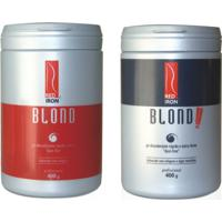 Red Iron Blond Pó Descolorante Forte 400G + Red Iron Pó Descolorante Extra Forte Blond Extreme 400G - Feminino-Incolor