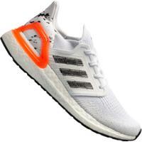 Tênis Adidas Ultraboost 20 - Masculino - Branco/Coral