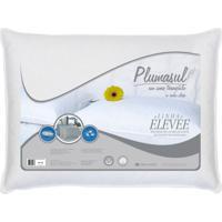 Travesseiro 50% Pluma 50% Pena De Ganso-50X70-Tecido 100% Algodão/Percal 233 Fios