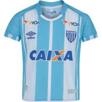Camisa Do Avaí I 2017 Nº 10 Umbro - Infantil - Azul/Branco