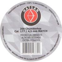 Chumbinho Hatsan 4.5Mm (.177) Match Champion - 200 - Unissex