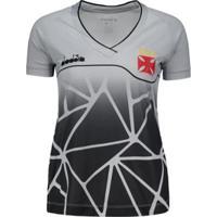 9ea75a5bdb4ec Camisa Diadora Vasco Treino 2018 Atleta Feminina - Feminino