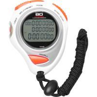 Cronômetro Liveup Ls3347 Branco-Prata
