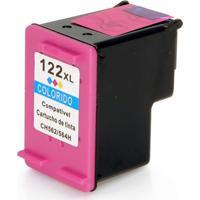 Cartucho De Tinta Compatível Hp 122Xl 122 Para Deskjet 1000 1050 1055 2000 2050 3000 3050 3050A Colorido 11Ml