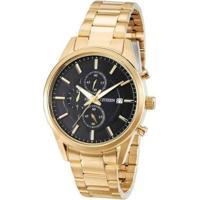 Relógio Citizen Tz20411U Masculino - Masculino-Dourado