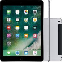 "Tablet Apple Ipad 5º Geração 9.7"" 32Gb Wi-Fi + Cellular Cinza Espacial Mp1J2"