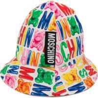 Moschino Kids Chapéu Toy Com Estampa - Vermelho