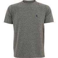 Camiseta Ralph Lauren Custom Fit Chumbo Icon Marinho