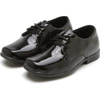 Sapato Ortopasso Verniz Preto