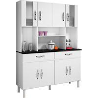 Cozinha Compacta Ventura 8 Pt E 2 Gv Branco