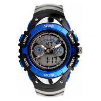 Relógio Skmei Infantil -0998- Preto E Azul