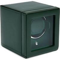 Wolf Watch Winder Box - Verde