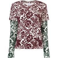 Rosie Assoulin Blusa De Moletom Com Estampa Floral - Estampado
