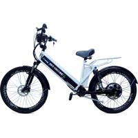 Bicicleta Elétrica Machine Motors New Premium 800W 48V Branca