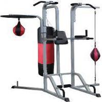 Multi Estação De Musculação Boxe Pancadaria 8 Em 1