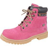 Bota Adventure Feminina Difranca - Terra - Pink