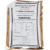 Fornasetti Prato Parsifal - Branco