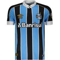 Camisa Umbro Grêmio I 2019 Libertadores - Masculino