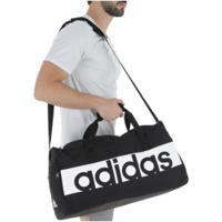 Mala Adidas Ess Linear M - Preto/Branco