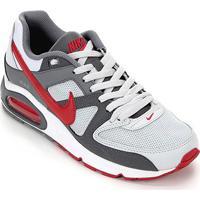 Tênis Nike Air Max Command Masculino - Masculino-Vermelho+Cinza