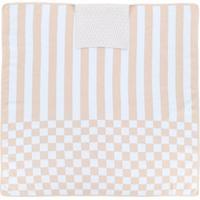 Fendi Kids Cobertor Com Mix De Estampas - Nude & Neutrals