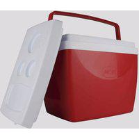 Caixa Térmica Mor 34 Litros Vermelha E Branca