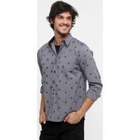 7db053c7e9 Dafiti  Camisa Wg Geometric M L - Masculino