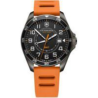 Relógio Victorinox Swiss Army Masculino Borracha Laranja - 241897