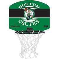 Mini Tabela De Basquete Nba Boston Celtics Spalding Team Micro Backboard Set - Unissex