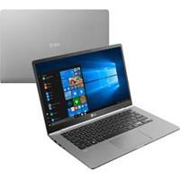 "Notebook Lg, Intel® Core I5 - 8250U, 8Gb, 256Gb Ssd, Tela De 14"" Titânio - 14Z980-G.Bh51P1"