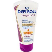 Creme Depilatório Facial Depiroll Argan Oil Depilador Depiroll Argan Oil Cera Creme Para Buço Com 50G