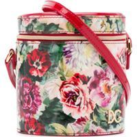 Dolce & Gabbana Kids Bolsa Tiracolo Com Estampa Floral - Preto
