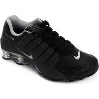 Tênis Nike Shox Nz Eu Masculino - Masculino-Preto+Prata