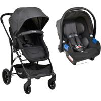Carrinho Bebe Travel System Convert Touring Evolution X Dark Grey