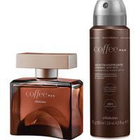 Combo Coffee Man: Desodorante Colônia, 100Ml + Desodorante Antitranspirante, 75G