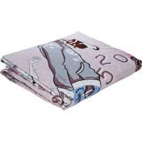 Kit De Colcha Solteiro Com Porta Travesseiro Inter Home Rosa