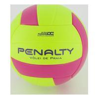 Bola Vôlei De Praia Penalty Fusion X Amarela E Rosa