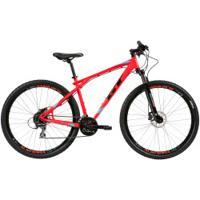 Mountain Bike Gt Timberline Expert - Aro 29 - Freio Promax Hidráulico - Câmbio Shimano - 24 Marchas - Vermelho