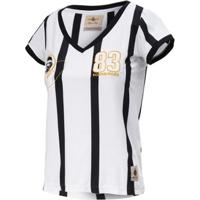 446507c8ef Camisa Baby Look Retrô Gol Away Sócrates Ex-Corinthians Feminina - Feminino