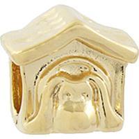 Berloque Narcizza Semijoias Cachorro Na Casinha Ouro