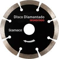 Disco De Corte Diamantado Segmentado 4'' Preto