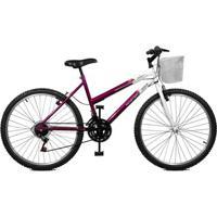 Bicicleta Master Bike Aro 26 Serena Plus 21 Marchas V-Brake - Unissex