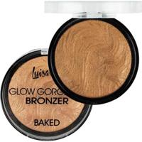 Blush Bronze Luisance Glow Gorgeous Bronzeador C Baked Perfeito - Feminino-Incolor