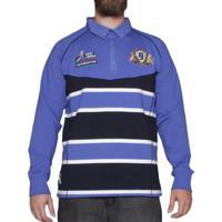 ea00e00e9 Netshoes  Camisa Kevingston Gola Polo M L Stockport Rugby - Masculino