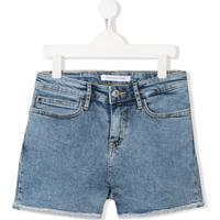Calvin Klein Kids Bermuda Jeans - Azul