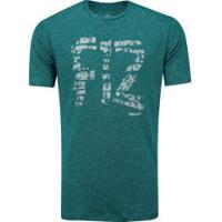 Camiseta Penalty F12 Master - Masculina - Petroleo