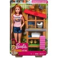 Boneca Barbie Quero Ser Cuidadora Do Galinheiro Mattel Dhb63