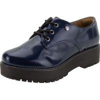 Sapato Feminino Oxford Via Marte - 207305 Marinho 34