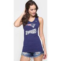 Camiseta Regata New Era Nfl Mesh New England Patriots Feminina - Feminino